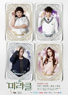 The Miracle / My Secret Diary - (2016) (12 mini eps). Cute