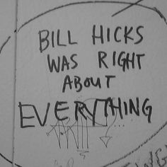 bill hicks stand up | Tumblr