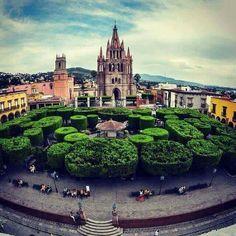 San Miguel de allende plaza