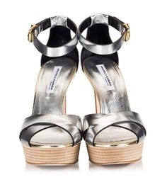 f9338c453e9 Fratelli Karida High heel sandals crafted from silver vachetta leather are  an ideal choice for your wedding shoes. Features ankle buckle-fastening  leather ...