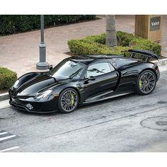 Porsche 918 Spyder   Photo by @axion23   #blacklist #porsche #918
