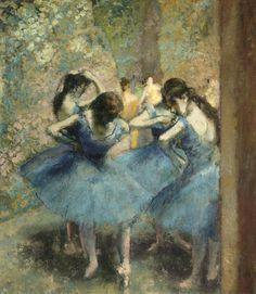 Edgar DEGAS Danseuses bleues.
