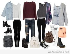 Awesome school outfits my ladies, this are my choices...