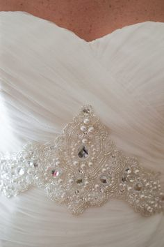 Blue by Enzoani I love bodice bead work Wedding Wear, Wedding Bells, Wedding Events, Our Wedding, Dream Wedding, Wedding Dresses, Wedding Attire, Blue By Enzoani, August Events