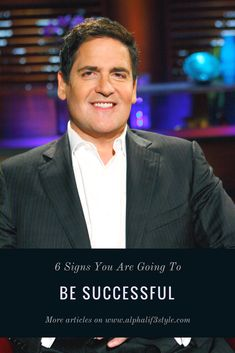 Successful people have a lot in common. Here are six signs you are going to be successful: Successful People, Lifestyle Blog, Entrepreneur, How To Become, About Me Blog, Articles, Rock, Signs, World