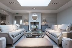 Sims Hilditch Design Studio at The White Hart  Love the Neptune Manhattan coffee table