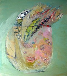 another brooke wandall painting  'feathers'  breaks my heart it's so beautiful