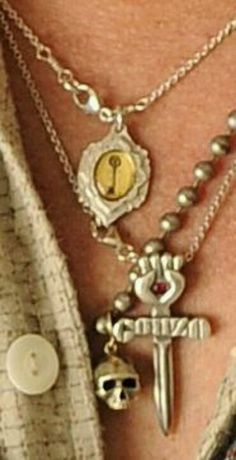 Johnny's chains..really love the key...