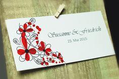 """Einladungskarte aus unserer Serie """"Summerfeeling"""". Die gesamteKollektion ist in 7 verschiedenen frischen Sommerfarben verfügbar..."""
