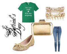 """St Patrick Day Style"" by teennetwork ❤ liked on Polyvore featuring Kate Spade, Topshop, KOTUR and River Island"