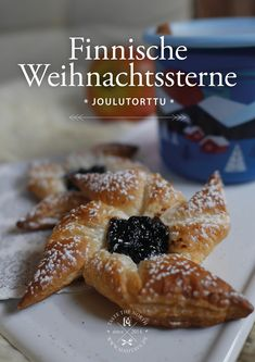Hygge, Nordic Kitchen, Plum Jam, Christmas Poinsettia, Finland, Scandinavian, Biscuits, Stars, Bakken
