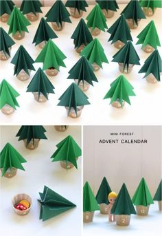 Looking for an original and easy advent calendar DIY? Check out this mini Christmas tree advent calendar to make. Easy and looks stunning. Christmas Tree Advent Calendar, Diy Advent Calendar, Mini Christmas Tree, Easy Christmas Crafts, Christmas Projects, All Things Christmas, Simple Christmas, Christmas Decorations, Minimal Christmas