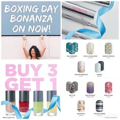 It's on! Boxing Day Bonanza and all the fabulous deals that go with it!  Head on over to naomio.jamberry.com to grab yours! 24hrs only . . #boxingday #afterchristmassales #grabagreatdeal #BoxingDayBonanza #boxingdaysales