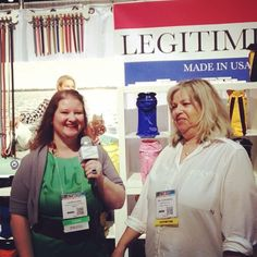 It was great to catch up with designer Gail Silberberg of Legitimutt at #globalpetexpo