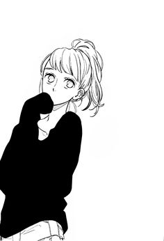 Daisy days and yellow sunshine keep my mornings bright. Manga Girl, Manga Love, Chica Anime Manga, Anime Art, Character Art, Character Design, Tsubaki Chou Lonely Planet, Hirunaka No Ryuusei, Manga Illustration