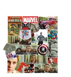 """""""☠//Hear the dogs howling out of key to a hymn called faith and misery ; And bleed, the company lost the war today//☠"""" by annabethpercy ❤ liked on Polyvore featuring Marvel, Carter's, Kate Spade and Converse"""