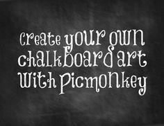 DIY Chalkboard Art Printables - Literally Inspired