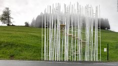 7 of the world's most beguiling bus stops are in a tiny Austrian village you've never heard of - CNN.com