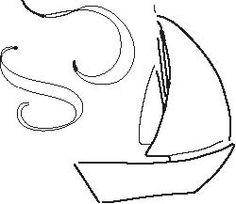 Sail Boat from Wall Yoga
