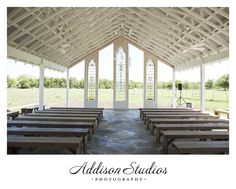 Gruene Estate Wedding :: Amanda + Kyle » Addison Studios Blog. Nice way to have outdoor wedding & be protected by rain