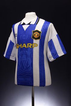 Manchester United Football Shirt (1994-1996, third shirt)  Always liked the subtle integration of the names of Man Utd legends into the design without compromising the entire look.