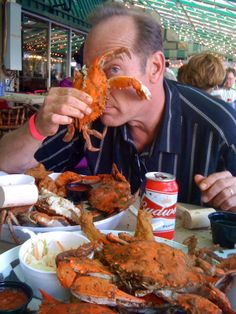 Maryland crab season officially opens today!  Where will you pick your first dozen? Get a copy of Crab Decks & Tiki Bars of the Chesapeake Bay and discover 300+ new places to kick off your summer of hot crabs and cold beer. Visit www.crabdecksandtikibars.com