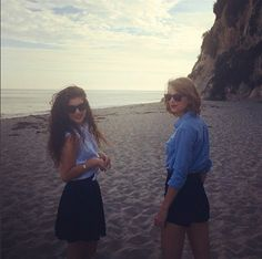 Taylor Swift and Lorde