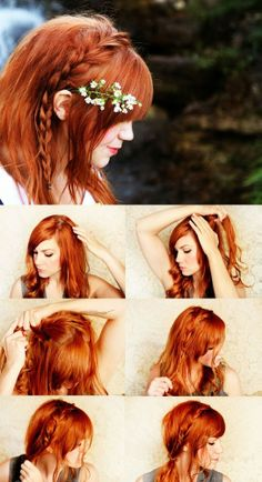 How To Make a Side Braid | hairstyles tutorial