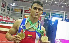 Jossimar Calvo entra en la historia del deporte colombiano