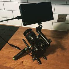 """""""Camera Porn pt.2 with @sonyprousa @movcam @atomos #shogun #a7s @metabones and #canon glass"""""""