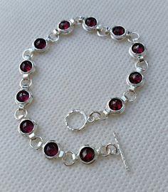 925 bracelet en argent sterling à la main Artisan par TalyaDesign