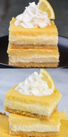 dessert recipes 556827941432275887 - You will love these Keto Lemon Cheesecake Bars! With three layers including a sweet shortbread crust, lemon cheesecake and a smooth lemon bar layer these are the ultimate low carb citrus dessert! Desserts Keto, Keto Dessert Easy, Sugar Free Desserts, Keto Snacks, Dessert Recipes, Healthy Lemon Desserts, Keto Sweet Snacks, Keto Desert Recipes, Keto Friendly Desserts