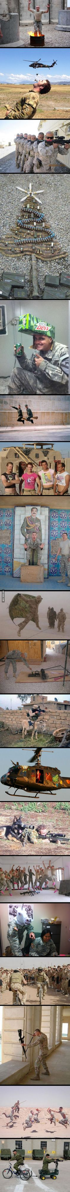 What Soldiers Do On Their Days Off