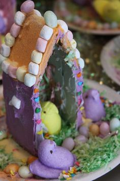 A house for your peeps - Kid's Easter activity