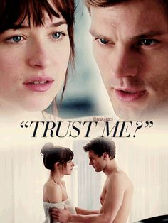 FSoG  Trust Me? Fifty Shades Darker Quotes, Fifty Shades Series, Shades Of Grey Movie, Fifty Shades Movie, Jamie Dornan, Christian Grey, Dakota Johnson, Anastasia Grey, Grey Quotes