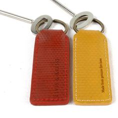 Recycled Fire hose Keyring by Elvis & Kresse Fire Hose Projects, Fire Hose Crafts, Firefighter Gear, Firefighter Wedding, Firefighter Quotes, Fire Hall, Leather Keyring, Key Fobs, Key Rings