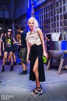 Rebeca Sellitti, nosso look amado do evento Farm x Adidas.