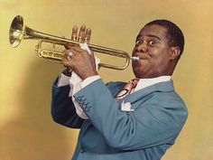 Louis Armstrong by Harry Warnecke