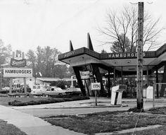 Sandy's Hamburgers-my first fast food! From Cinci, Ohio.
