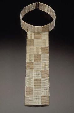 Necklace |  Flora Book.  Silver piece, 1998
