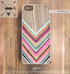 iPhone 5 Case Wood Print iPhone 4s Case Chevron by casesbycsera, $19.99