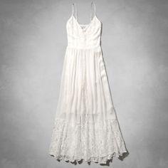 Womens Drapey Lace Maxi Dress
