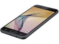 "Smartphone Samsung Galaxy J5 Prime 32GB Preto - Dual Chip 4G Câm. 13MP + Selfie 5MP Tela 5"" HD"