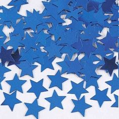 1/2 oz Confetti- Star Shaped 11mm Red/Silver/Blue,Blue,Gold, Silver, Iridescent #Darice #Party