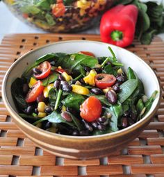 Get your new year off right.  Super easy salad that won't leave you hungry after.  Vegan and gluten free.