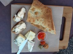 Cheese Plate from a food cart called Cheese Plate PDX