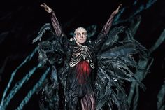 Gary Avis as Von Rothbart in Swan Lake, The Royal Ballet © 2018 ROH. Photograph by Bill Cooper Bill Cooper, Male Ballet Dancers, Theatrical Makeup, Swan Song, White Swan, Royal Ballet, Swan Lake, Awesome Costumes, Photograph