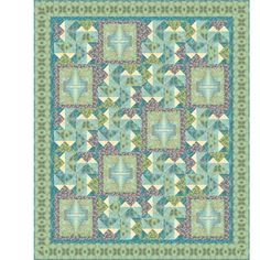 Kaleidoscope of Color Downloadable Quilt Pattern