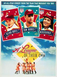 film, 1992, baseball, leagu, book, entertain, tom hanks, favorit movi, cri