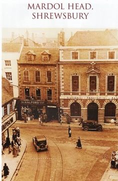 Shrewsbury England, Old Photographs, Historical Photos, Family History, Britain, Beautiful Places, Louvre, Mansions, House Styles